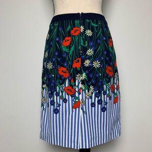 Anthropologie Skirts - Anthro {Postmark} Vertical Gardens Pencil Skirt